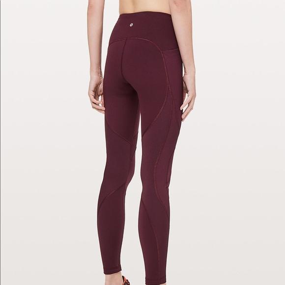 5901e1da3 lululemon athletica Pants - Lululemon on repeat leggings 7 8 tight